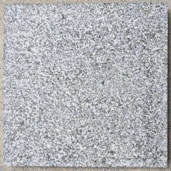Flamed finish on Bigio Grey Granite - HDG Building Materials