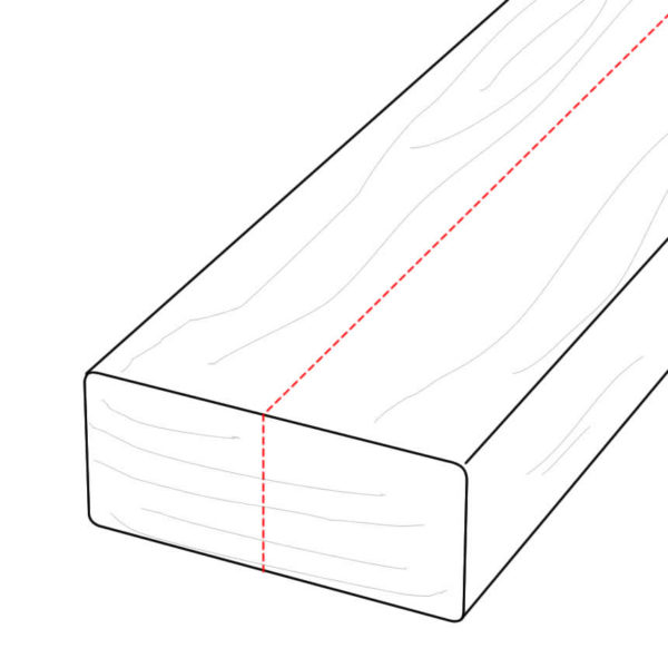 Making Custom Thermory Profile - 2x4 Ripped to Make 2x2 D4 Thermo-Ash - Dealer HDG Building Materials