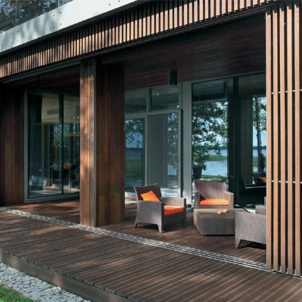 Private House With Thermo-ash Decking and Cladding - HDG Building Materials Dealer