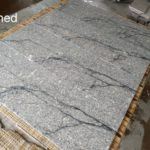 HDG Delta Grey Granite with Black Veins - Honed Finish - HDG Building Materials