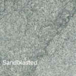 HDG Delta Grey Granite with Black Veins - Sandblasted Finish - HDG Building Materials