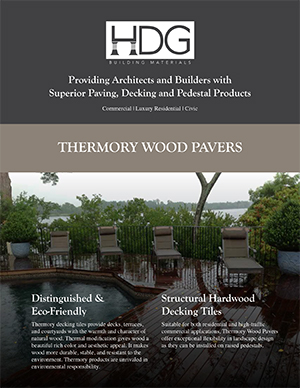 HDG Thermory Paver Brochure Image