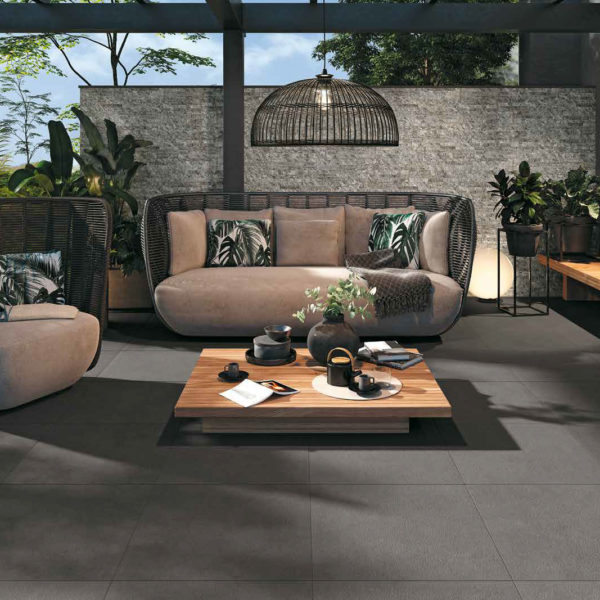 Porcelain Tile Outdoor Floor EP 08 HDG Pavero Pewter - HDG Building Materials