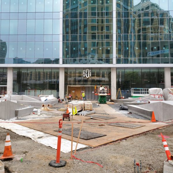 This Plaza Will Have a Sloped Walking Surface from the Building Entrance to the Public Sidewalk