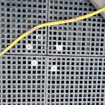 HDG Grating Panels with Flush Mount Fasteners - HDG Building Materials