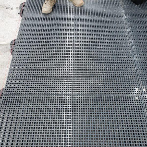 Fiberglass Reinforced Plastic - HDG Grating Panels