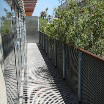 Fiberglass Reinforced Plastic Grating - Balcony - Application