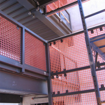HDG Grating Panels - Sunscreen Application