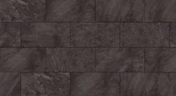 HDG Anthrazite Black 3CM Porcelain Paver Pattern with Black Washes Finish - HDG Building Materials