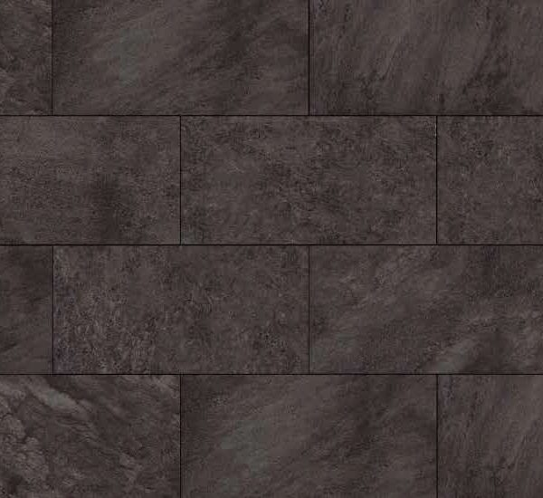 HDG Anthrazite Black 3CM Porcelain Paver Pattern with Black Washes Finish - HDG Building Materials