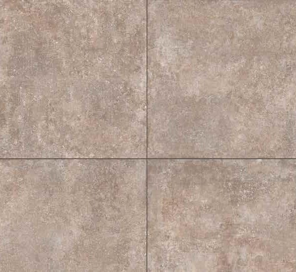 HDG Ave Taupe 3CM Porcelain Paver with Rum Beige Travertine Finish - Pattern - HDG Building Materials