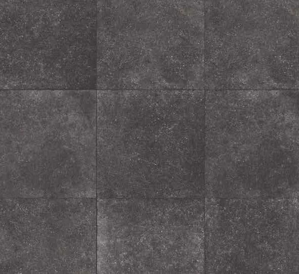 HDG Bluestone Black 3CM Porcelain Paver with Oolitic Limestone Black Finish - HDG Building Materials