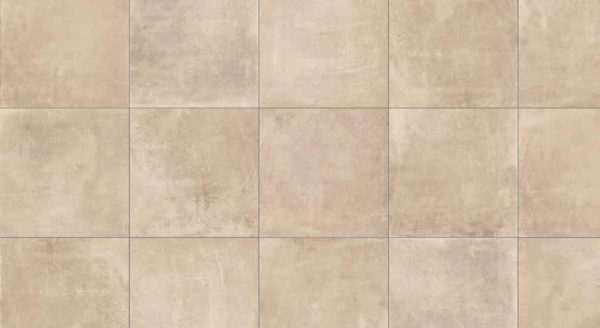 HDG Concrete Taupe 3CM Porcelain Paver with Cream Tan Fine Concrete Finish Pattern - HDG Building Materials