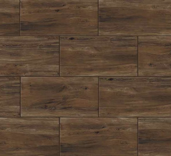 HDG Scuro Brown 3CM Porcelain Paver with Brown Alder Wood Finish - Pattern - HDG Building Materials
