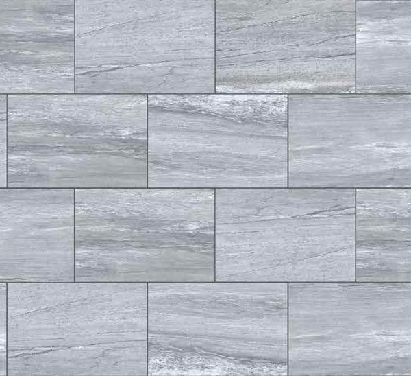 HDG Silpova Grey 3CM Porcelain Paver with Light Grey Veign-Cut Sandstone Finish - Pattern - HDG Building Materials