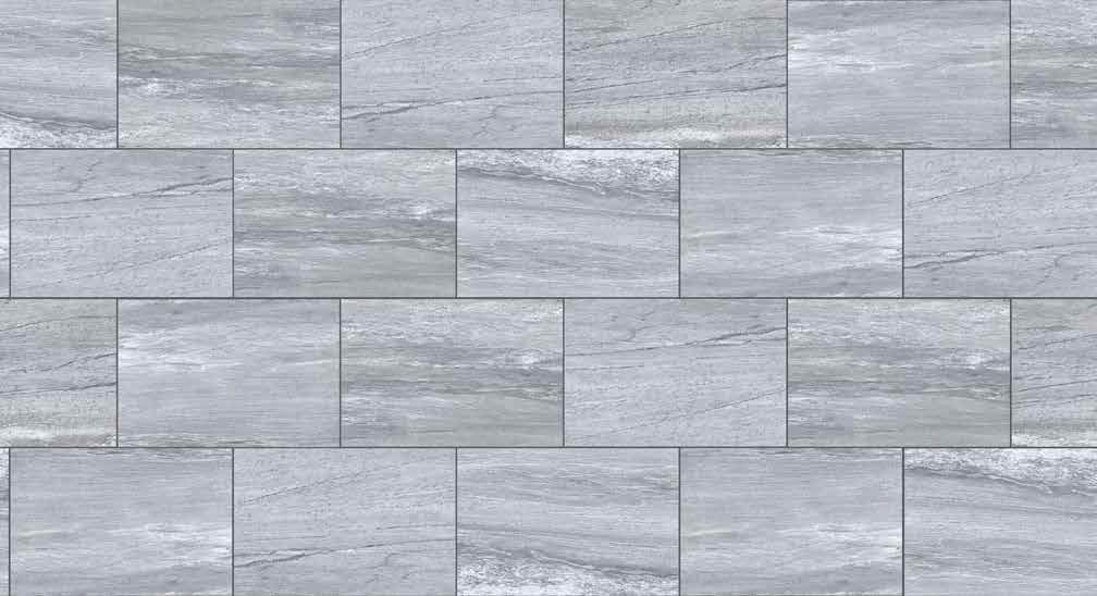 HDG Silpova Grey 3CM Porcelain Paver with Light Grey Veign-Cut Sandstone Finish - Pattern - HDG Building Materials