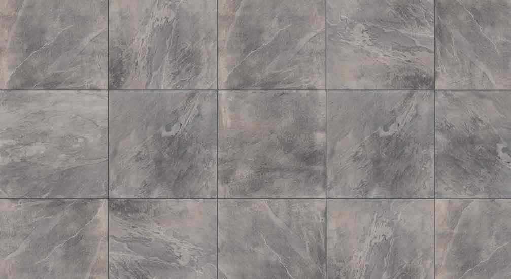 HDG Slate Grey 3CM Porcelain Paver 60x60 with Slate Course Finish - HDG Building Materials