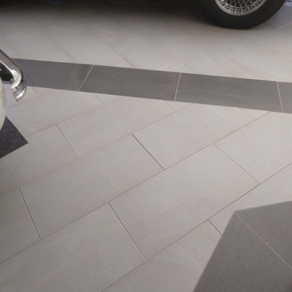 Porcelain Pavers in Garage Application - HDG Building Materials