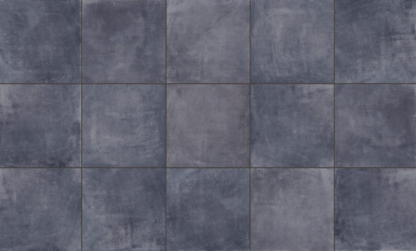 SH 3CM Concrete Black Drive Over Porcelain Paver Pattern - HDG Building Materials
