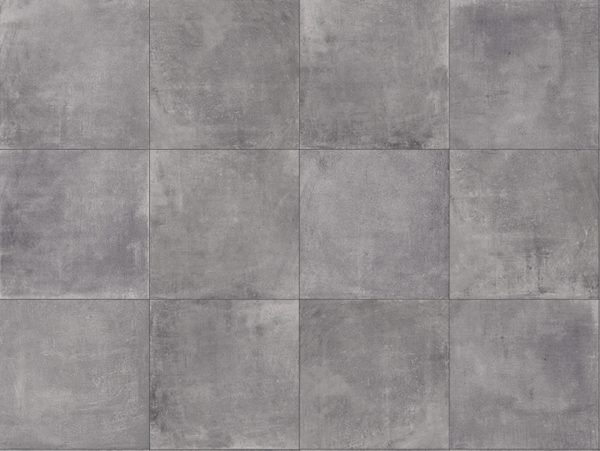 SH 3CM Concrete Smoke Drive Over Porcelain Paver Pattern - HDG Building Materials