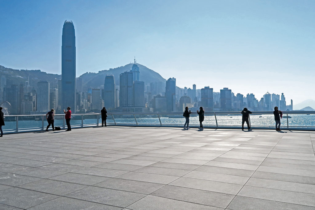 Hong-Kong Terrace with Colo-Grigi Porcelain Pavers - HDG Building Materials