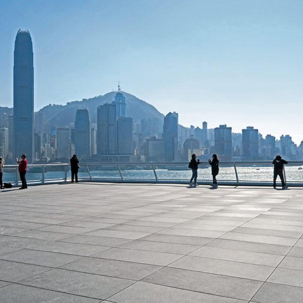 hong-kong terrace with Origami Grey - HDG Building Materials
