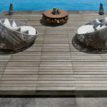 Aged Teak Porcelain Pavers - Pool Surround and Deck - HDG Building Materials
