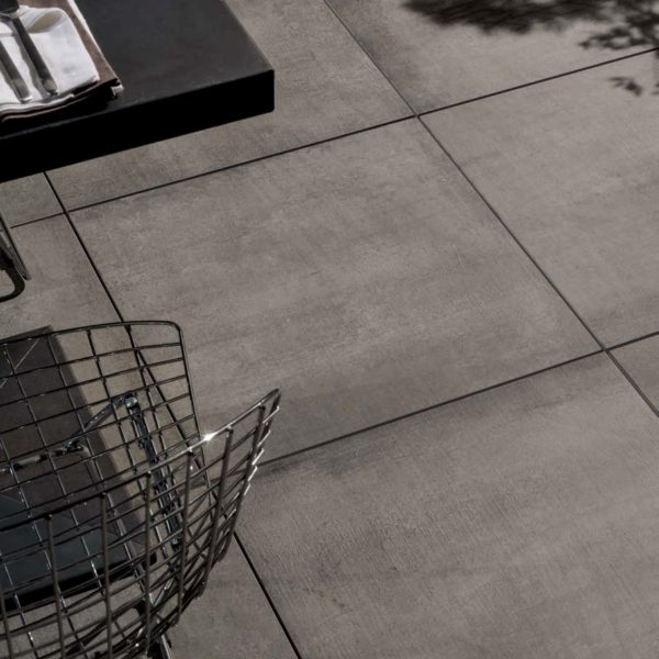 CC-Moda Black 2cm Porcelain Pavers in 60x60 or 80x80 cm - HDG Building Materials