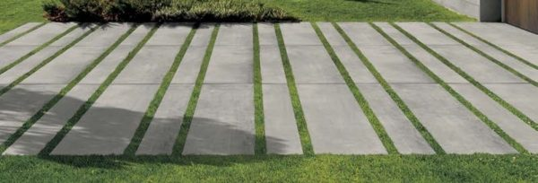 CC-Moda Grey 60x60 2cm Porcelain Paver Walkway - Feature - HDG Building Materials
