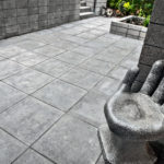 Courtyard with HDG Concrete Pavers