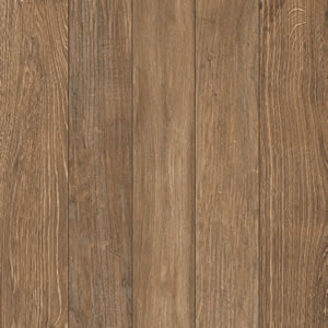 Espresso Grooved Wood Slat Porcelain Paver 60x60 cm - HDG Building Materials