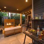 HDG Concrete Pavers in Outdoor Living Room