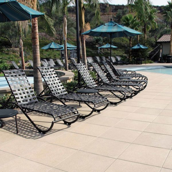 HDG SW Series Concrete Pavers 24x24 Pool Decking Application
