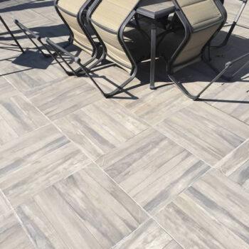 Kauri Grey 60x60cm Porcelain Pavers Close Up Pattern