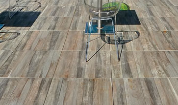 Kauri Grey Porcelain Paver with Fine Wood Grain Finish 60x60 cm - HDG Building Materials