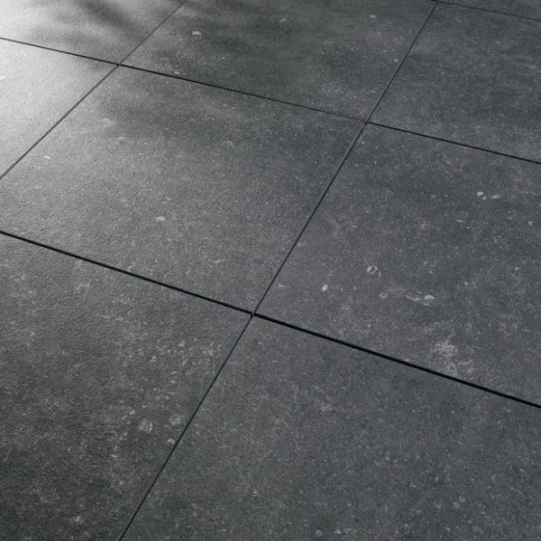 Kaia Black 60x60 cm Porcelain Paver Detail - HDG Building Materials