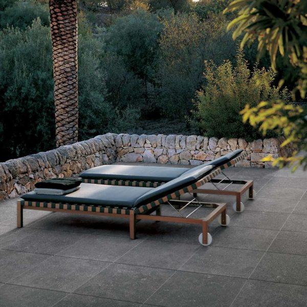 Kaia Black 60x60 cm Porcelain Paver Outdoor Terrace Tall - HDG Building Materials