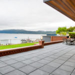 Outdoor Terrace with HDG Concrete Pavers