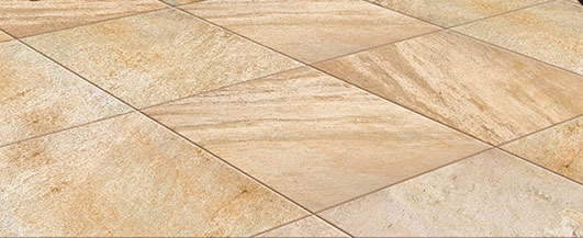Rusty-Tan Quartzite Finish 60x60 cm Porcelain Paver - Detail - HDG Building Materials