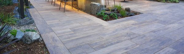 SUP Dawn Porcelain Paver with Gold Ash Wood Finish - HDG Building Materials