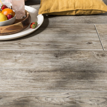 SUP Dusk Porcelain Paver with Grey Ash Wood Finish Detail - HDG Building Materials