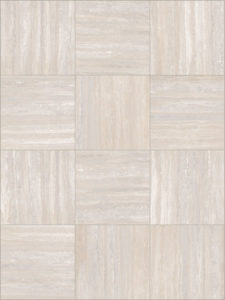 Trevino Grey 60x60 Porcelain Paver with Travertine Finish - Pattern - HDG Building Materials