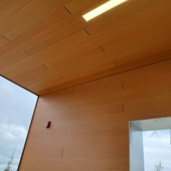 Resysta 4 Channel Hollow Core Profile Cladding Wall and Ceiling