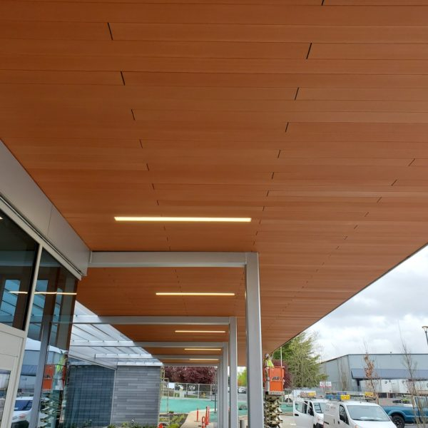 Resysta 4 Channel Hollow Core Profile in Ceiling Cladding