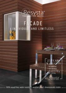 Resysta Facade - Individual and Limitless - HDG Building Materials