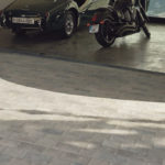 Driveway Application with 30x30 cm Centaur Grey Porcelain Paver - HDG Building Materials
