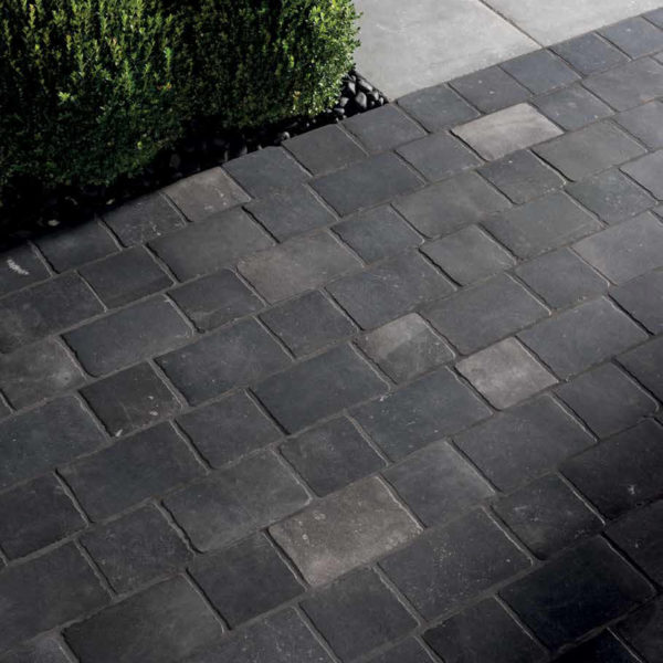 Driveway-Application-with-Porcelain-Pavers-20x20-cm-and-20x30-cm-Namo-Black