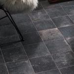Namo-Black-Porcelain-Paver-floor-with-20x20-cm - HDG Building Materials