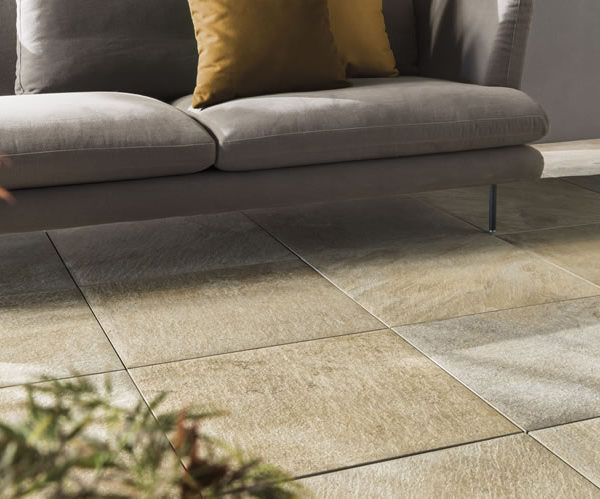 Silas Gold 60x60 cm Porcelain Paver in Patio - HDG Building Materials