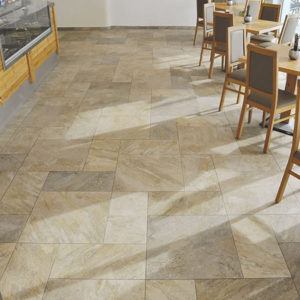 Silas Gold Porcelain Paver Cafe Floor 30x60 cm and 60x60 cm - HDG Building Materials